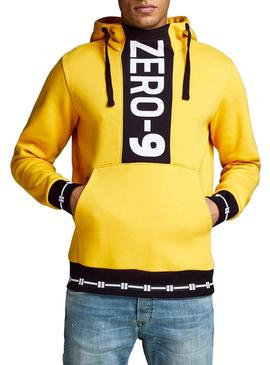 Sudadera Jack and Jones Rookie Amarillo Hombre