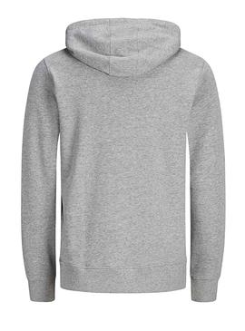 Sudadera Jack and Jones Antwon Gris Hombre