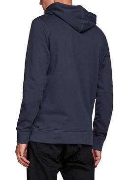 Sudadera Jack and Jones Jorracer Marino