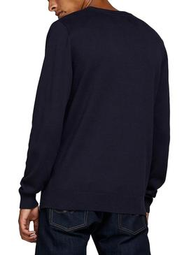 Sudadera Jack and Jones JCOCATCH Marino Hombre