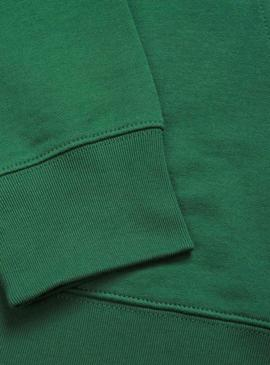 Sudadera Carhartt College  Hooded Verde Hombre