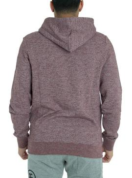 Sudadera Jack and Jones Friday Granate para Hombre