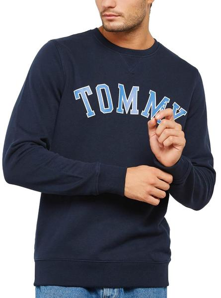 Sudadera Tommy Jeans Essential Marino