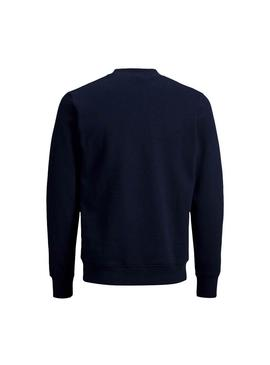 Sudadera Jack and Jones Jornevada Marino
