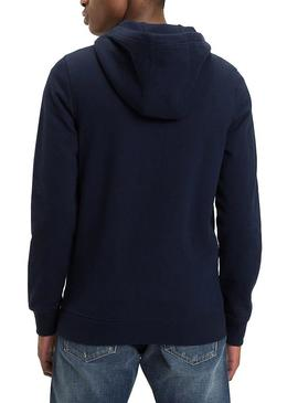 Sudadera Tommy Jeans Essential Graphic Zip Hombre