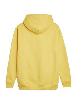 Sudadera Tommy Jeans HOODIE ASPEN Amarillo Hombre