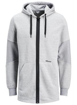 Sudadera Jack and Jones Jcoriko Gris