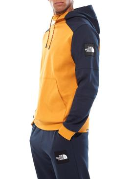 Sudadera The North Face Fine Amarillo Hombre