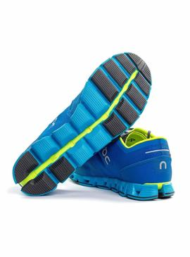 Zapatillas On Running Cloud X Water Blues Hombre