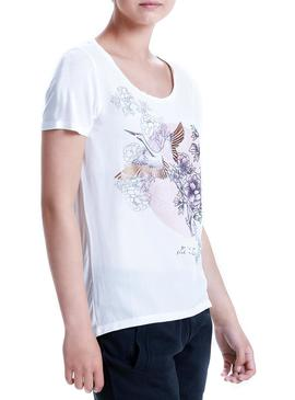 Camiseta Only Rhina Blanco