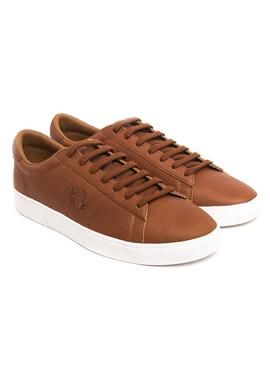 Zapatillas Fred Perry Spencer Waxed Marron