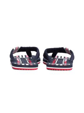 Chanclas Tommy Hilfiger Badge Textile Marino