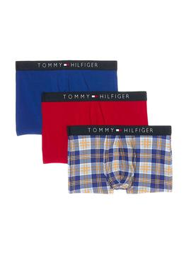 Pack Calzoncillos Tommy Hilfiger Check
