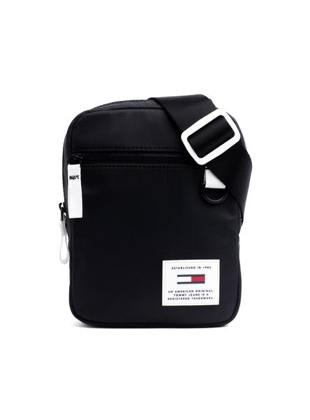 Bolso Tommy Jeans Urban Tech Negro Hombre