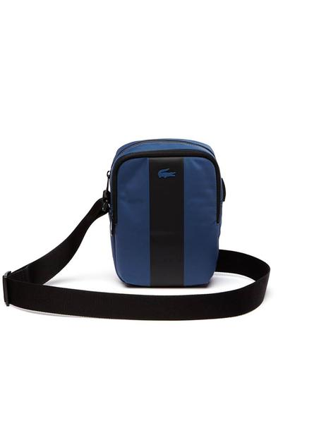 Bolso Lacoste Vertical Wing Azul