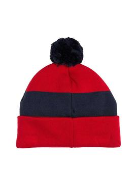 Gorro Tommy Jeans Rugby Rojo