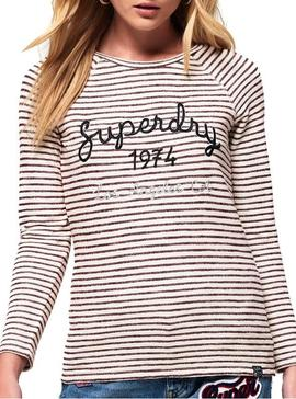 Camiseta Superdry Blossom Granate
