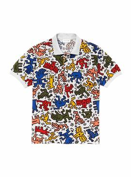 Polo Lacoste Keith Haring Multi Hombre