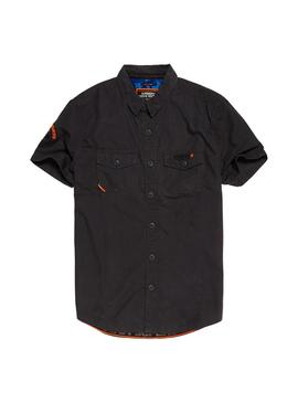 Camisa Superdry Rookie Parachute Negro Hombre