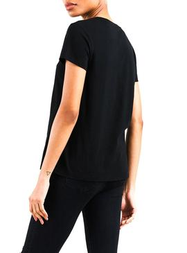Camiseta Levis Perfect Holiday Negro Mujer