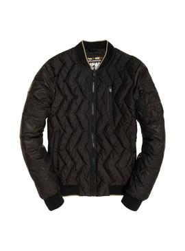 Bomber Superdry Zigzag Hombre