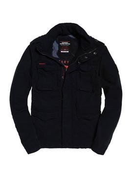 Chaqueta Superdry Classic Rookie Negro Hombre