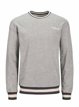 Sudadera Jack and Jones Jared Gris Hombre