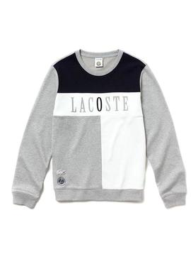 Sudadera Lacoste Sport French Open Gris