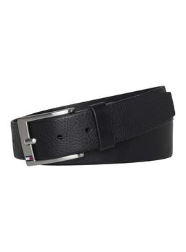 Cinturon Tommy Hilfiger New Aly Negro Hombre