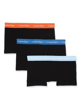 Pack Calzoncillos Calvin Klein Low Rise 3PK RGW