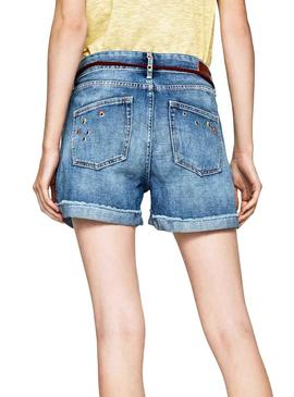 Short Pepe Jeans Thrasher Sparks Mujer