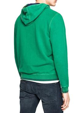 Sudadera Pepe Jeans Sealey Verde Hombre