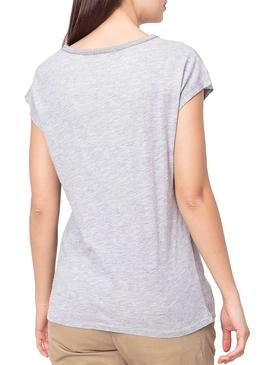 Camiseta Pepe Jeans Alice Gris Mujer