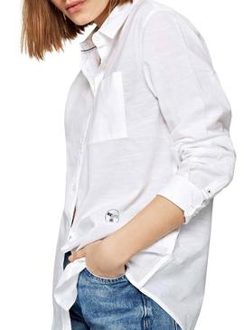 Camisa Pepe Jeans Cameron Blanco Mujer