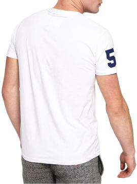 Camiseta Superdry Goods Duo Blanco Hombre
