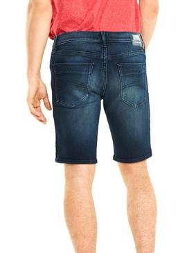 Short Tommy Jeans Scanton Dark Denim Hombre