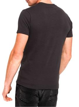 Camiseta Superdry Retro Entry Gris Hombre