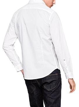 Camisa Pepe Jeans Hyden Blanco Hombre