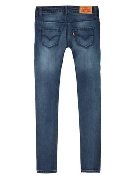 Pantalon Levis 710 Denim Medio Niña