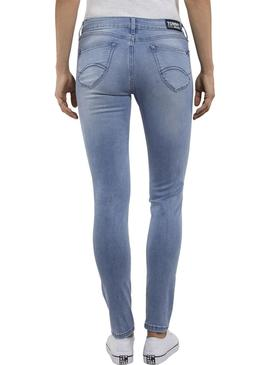 Pantalon Vaquero Tommy Jeans Sophie Light Denim