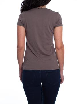 SLIM CREW NECK TEE H115BAY BREEZE LOGO