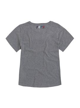 Camiseta Pepe Jeans Sammy Gris Mujer