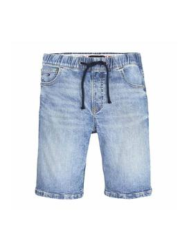 Bermuda Tommy Hilfiger Randy Elastic Light Niño