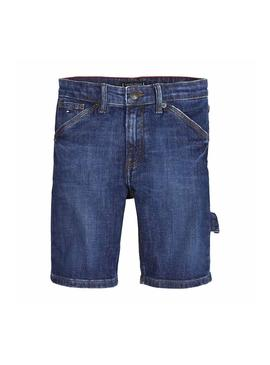 Bermuda Tommy Hilfiger Carpenter Dark Niño