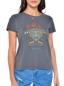 Camiseta Only Dixie Rebel