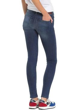 Pantalon Vaquero Tommy Jeans Nora NMST Mujer