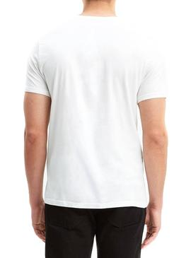 Camiseta Levis Graphic Basic Blanco Hombre