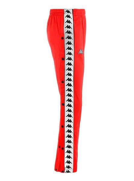 Pantalon Kappa Astoria Press Rojo Mujer