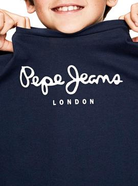 Camiseta Pepe Jeans New Herman Jr Marino Niño