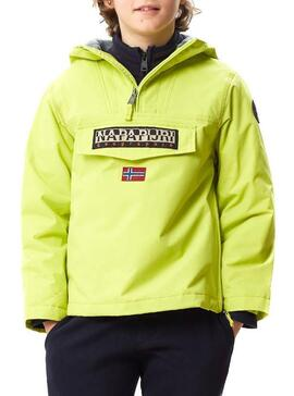 Chaqueta Napapijri Rainforest Winter Amarillo Kids